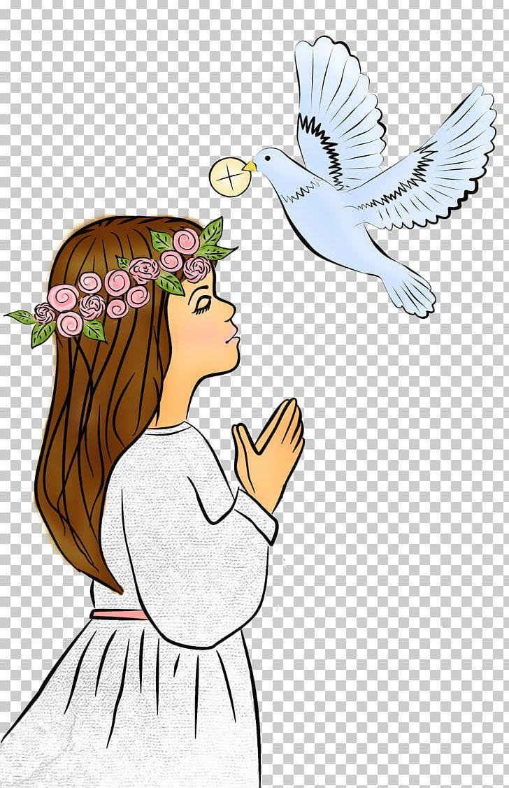 First Communion Eucharist Confirmation Saint PNG, Clipart, Angel, Art, Artwork, Beak, Bird Free PNG Download