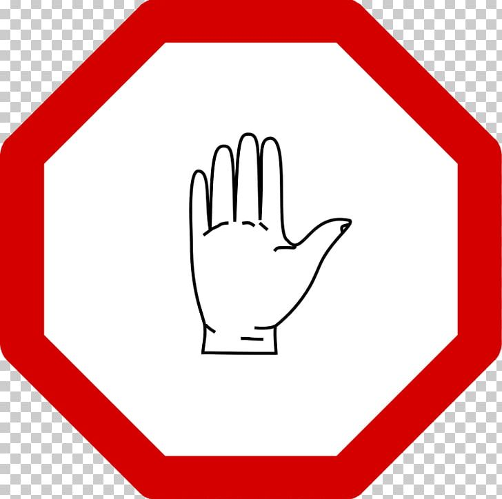 Stop Sign Traffic Sign Free Content Scalable Graphics PNG, Clipart, Angle, Area, Black And White, Brand, Finger Free PNG Download