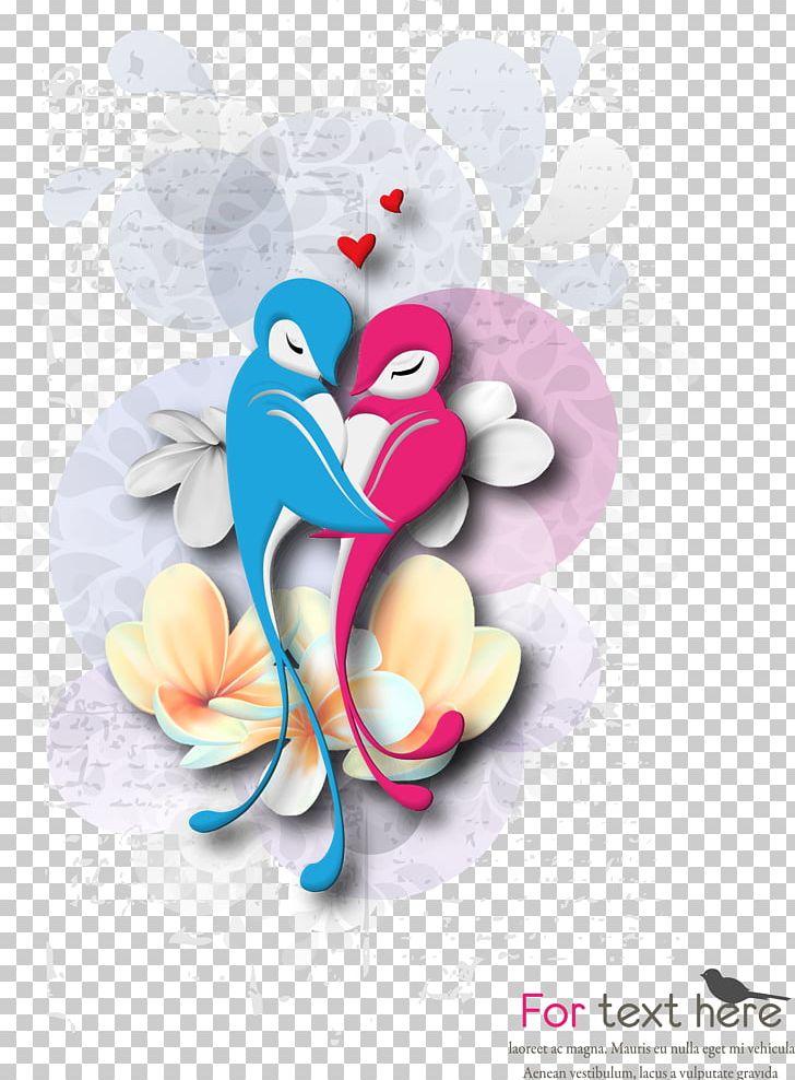 Cartoon Love Birds PNG, Clipart, Animal, Art, Bird, Bird Cage, Cartoon Character Free PNG Download