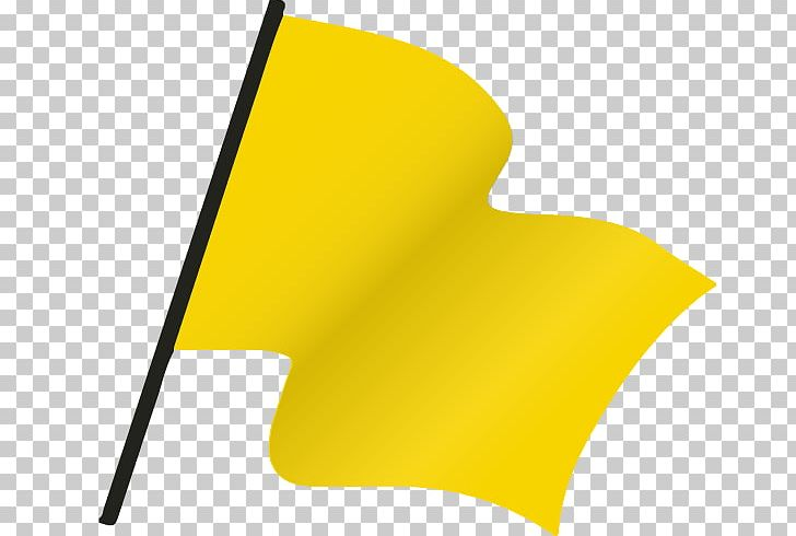 Flag yellow. Penalty png clipart angle