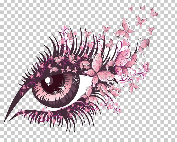 Butterfly Eye Stock Photography PNG, Clipart, Beauty Parlour, Butterfly, Butterfly Flower, Closeup, Cosmetics Free PNG Download