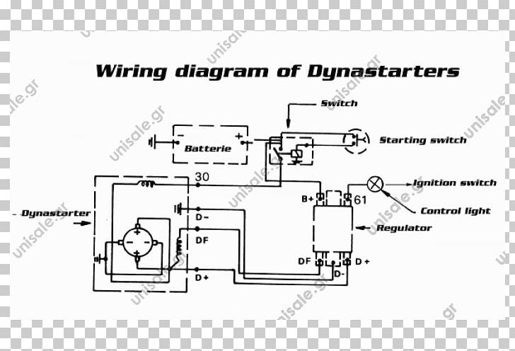 Wiring Diagram Dynastart Starter SIBA Elektrik G.m.b.H Remy International PNG, Clipart, Alternator, Angle, Area, Auto Part, Black And White Free PNG Download