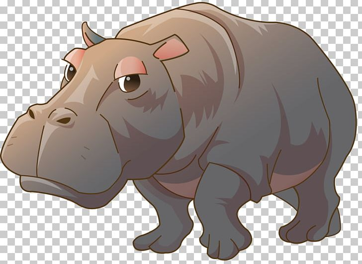 Hippopotamus Painting Kinder Happy Hippo PNG, Clipart, Animal, Animals, Art, Bear, Carnivoran Free PNG Download