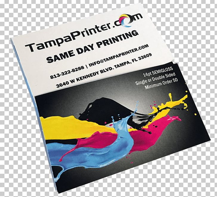 Tampa Printer Business Cards Printing Poster Flyer PNG, Clipart, Advertising, Brand, Business Cards, Card Stock, Cimpress Free PNG Download