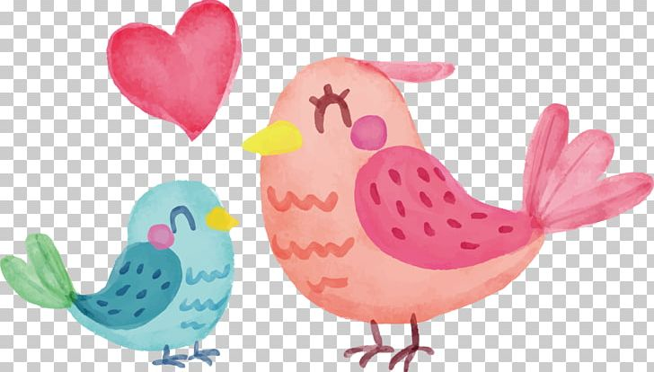 Mother's Day Mother And Child PNG, Clipart, Animal, Beak, Bird, Cartoon, Cartoon Hand Painted Free PNG Download