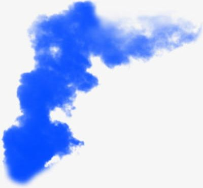 Blue Smoke PNG, Clipart, Blooming, Blue, Blue Clipart, Clouds, Ink