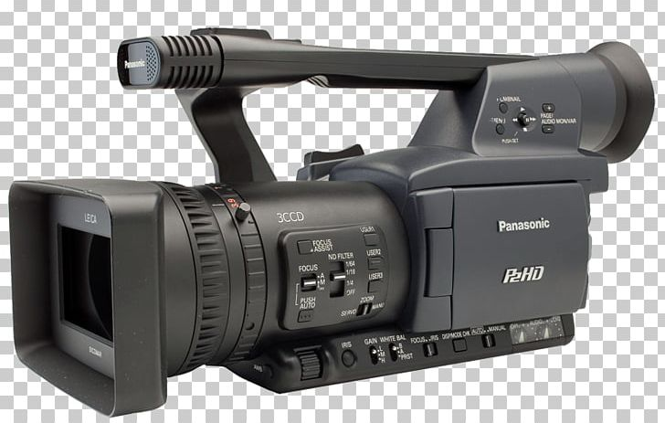 Panasonic P2 Camcorder High-definition Video Camera PNG