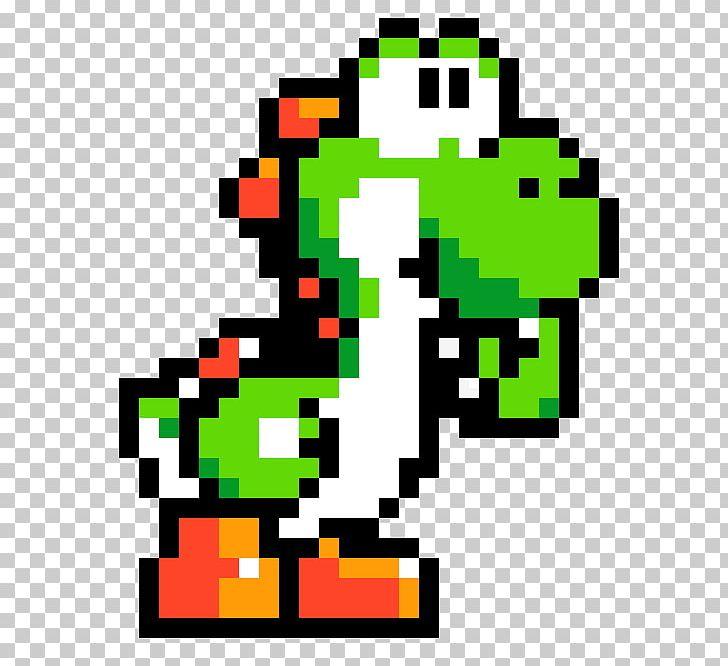 Super Mario World 2 Yoshis Island Mario Yoshi Pixel Art