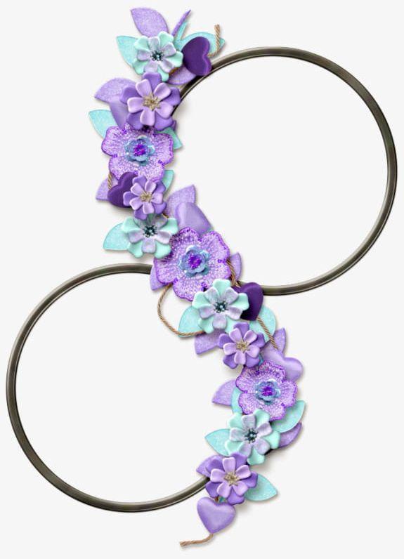 Purple Flowers Border PNG, Clipart, Border, Border Clipart, Decoration, Flowers, Flowers Border Free PNG Download
