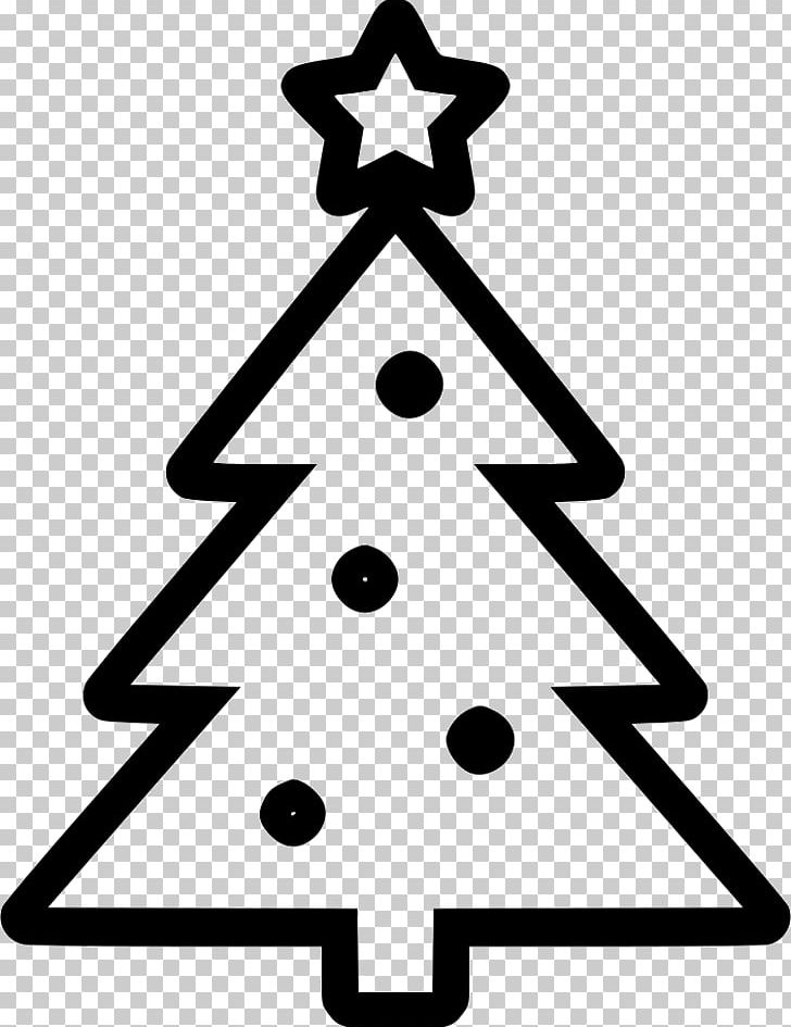 Computer Icons Christmas Tree Png Clipart Angle Area Black And