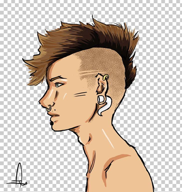 Drawing Undercut Digital Art PNG, Clipart, Arm, Art, Black Hair, Brown Hair,  Cartoon Free PNG Download