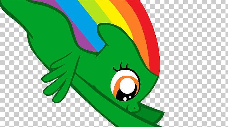 Rainbow Dash Sonic Rainboom Filly