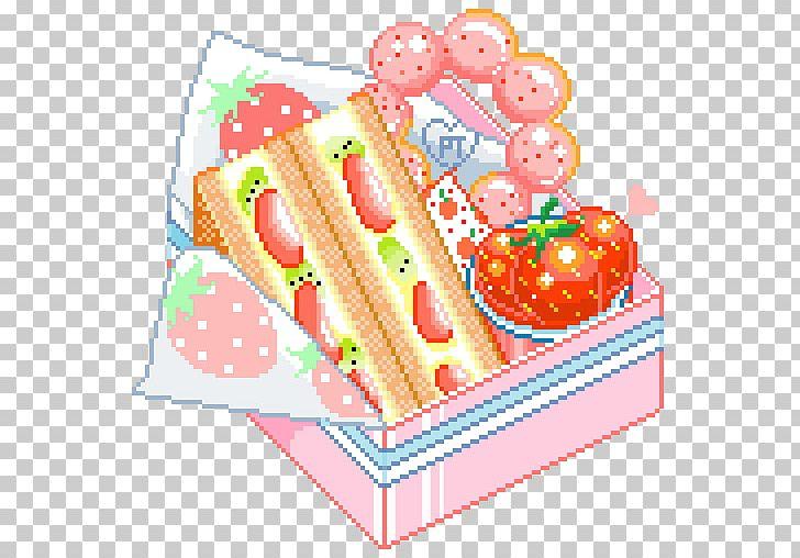 Pixel Art Food Hamburger Kavaii Png Clipart Art Cake