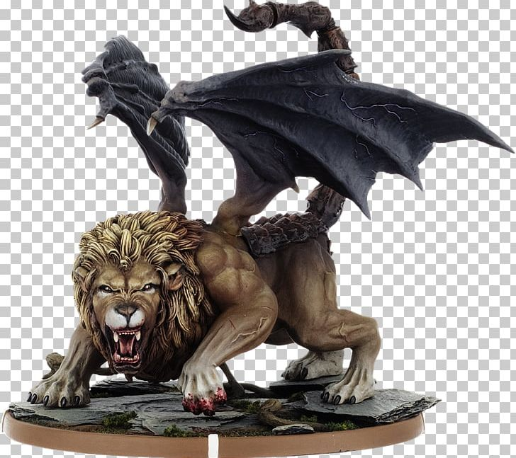 Miniature Figure Manticore Dungeons & Dragons Chainmail PNG, Clipart, Action Toy Figures, Chainmail, Cmon Limited, Dragon, Dungeons Dragons Free PNG Download