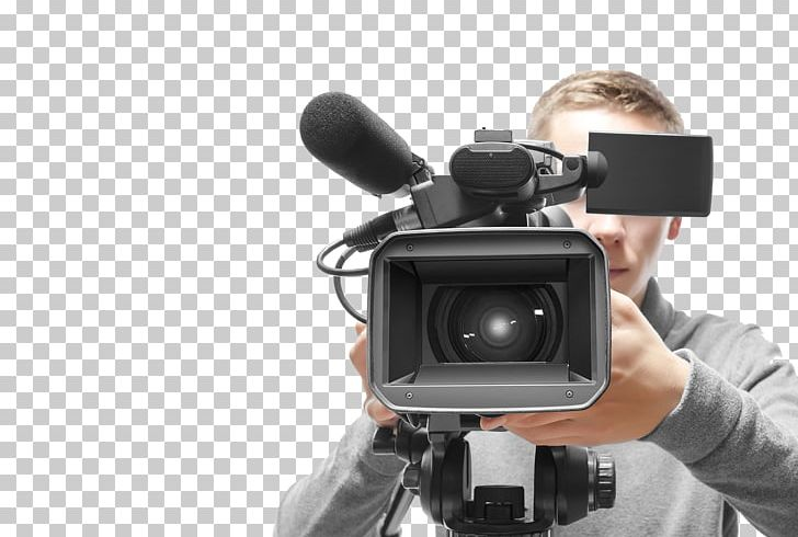 Stock Photography Camera Operator Professional Video Camera PNG, Clipart, Broadcasting, Camcorder, Camera Icon, Camera Lens, Microphone Free PNG Download