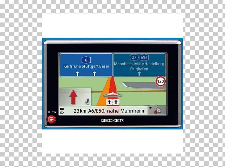 Automotive Navigation System Display Device Becker Traffic Assist Z