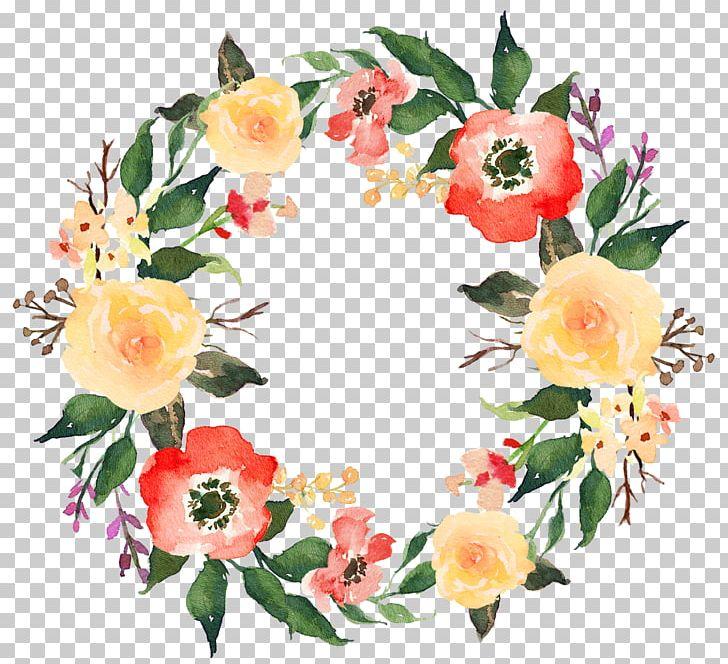 Garland Flower Wreath Png Clipart Artificial Flower