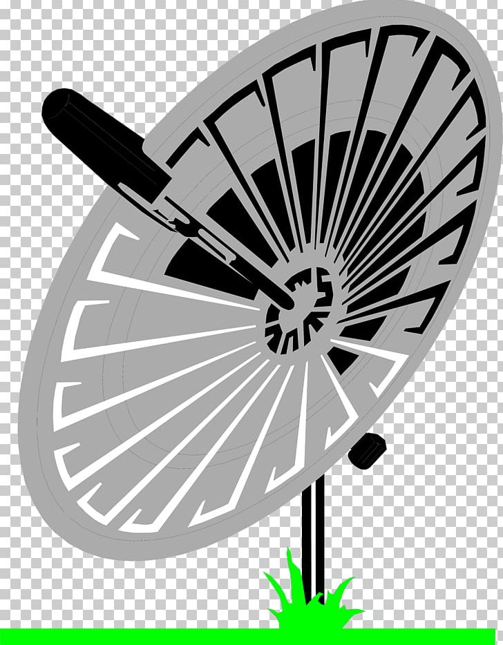 Satellite Dish Aerials Television Antenna PNG, Clipart, Aerials, Black And White, Circle, Clip Art, Dipole Antenna Free PNG Download