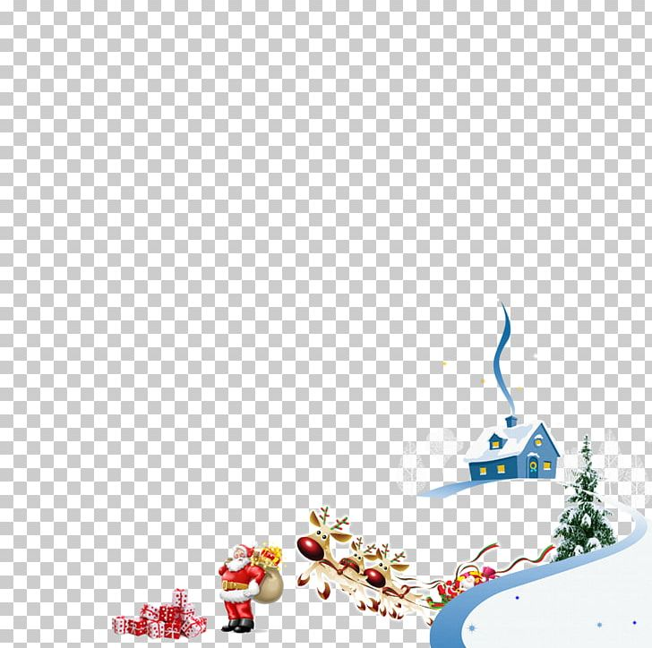 Santa Claus Christmas Graphic Design PNG, Clipart, Blue, Chariot, Christmas, Christmas Tree, Claus Free PNG Download