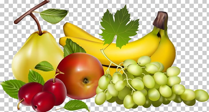 Vegetable Fruit Banana Food PNG, Clipart, Apple, Cherry, Grape, Natural Foods, Pear Free PNG Download