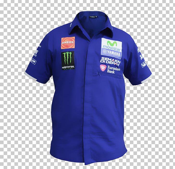 T Shirt 2017 Motogp Season Movistar Yamaha Motogp Polo Shirt Png Clipart 2017 Motogp Season Active