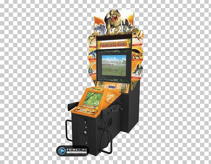 Arcade Cabinet Primeval Hunt Rambo The Lost World: Jurassic