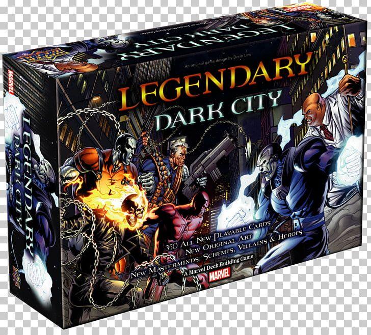 Deck-building Game Upper Deck Legendary Marvel Universe