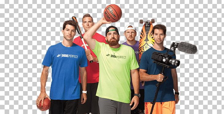 Dude Perfect Sports Stuff Png Clipart Dude Perfect Youtubers Free Png Download