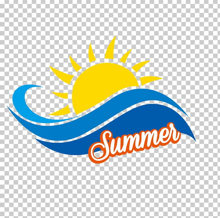 Summer Sunny Beach Holiday Logo Png Clipart Area Beach Brand Circle Clip Art Free Png Download