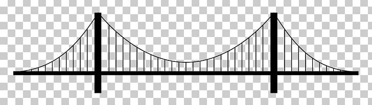 Suspension Bridge Drawing Arch Bridge PNG, Clipart, Angle, Arch Bridge, Area, Black, Black And White Free PNG Download