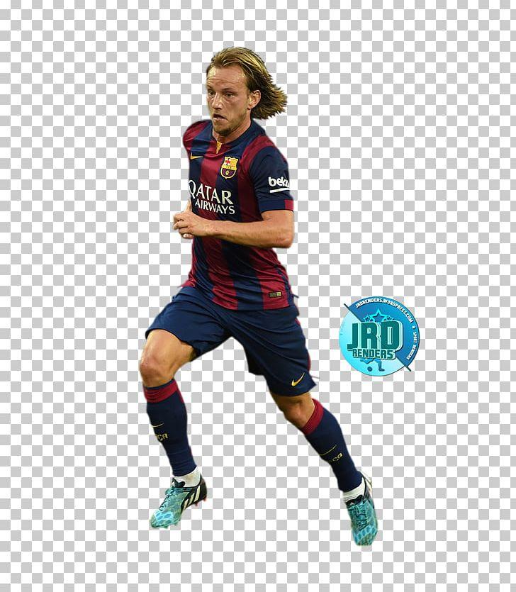 c49a2157a Ivan Rakitić FC Barcelona Croatia National Football Team 2017–18 La Liga  Jersey PNG