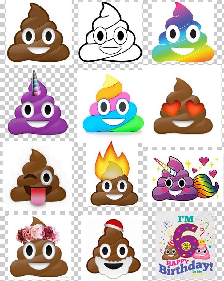 Pile Of Poo Emoji Toilet Feces Paper PNG, Clipart, Animal Figure, Birthday, Coloring Book, Emoji, Emoji Movie Free PNG Download