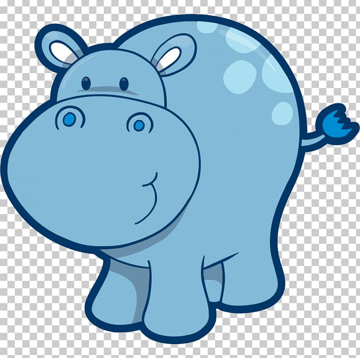 Hippopotamus Baby Hippos PNG, Clipart, Area, Artwork, Baby Hippos, Blue, Cartoon Free PNG Download