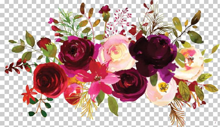 Garden Roses Floral Design Flower Bouquet Burgundy PNG, Clipart, Artificial Flower, Bur, Color, Cut Flowers, Floral Design Free PNG Download