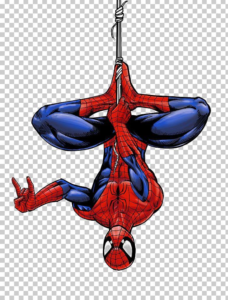 Spiderman upside down. Spider man captain america