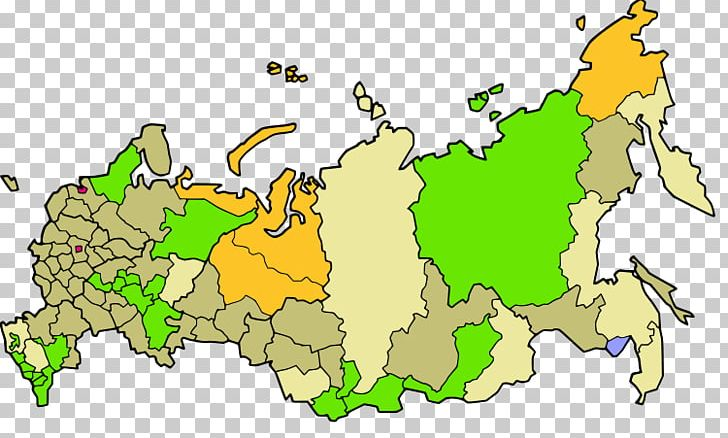 World Map Federal Subjects Of Russia Moscow United States Of ...