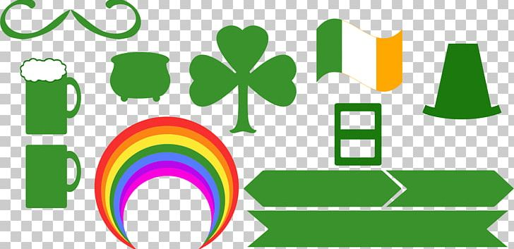 Saint Patrick's Day March 17 Symbol Irish People PNG, Clipart, Area, Brand, Circle, Fourleaf Clover, Graphic Design Free PNG Download