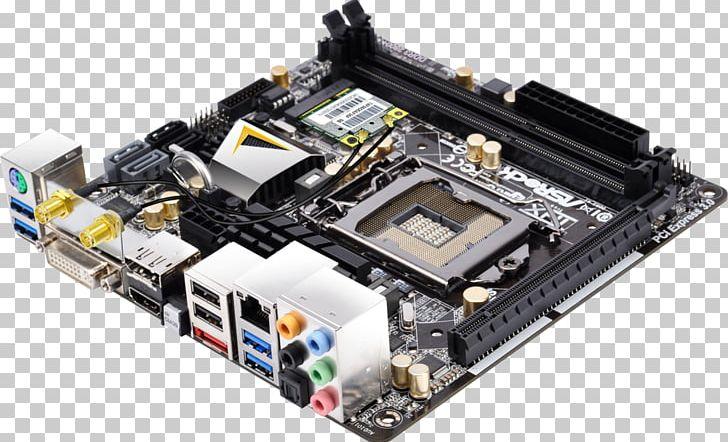 Intel Mini-ITX LGA 1155 Motherboard ASRock PNG, Clipart