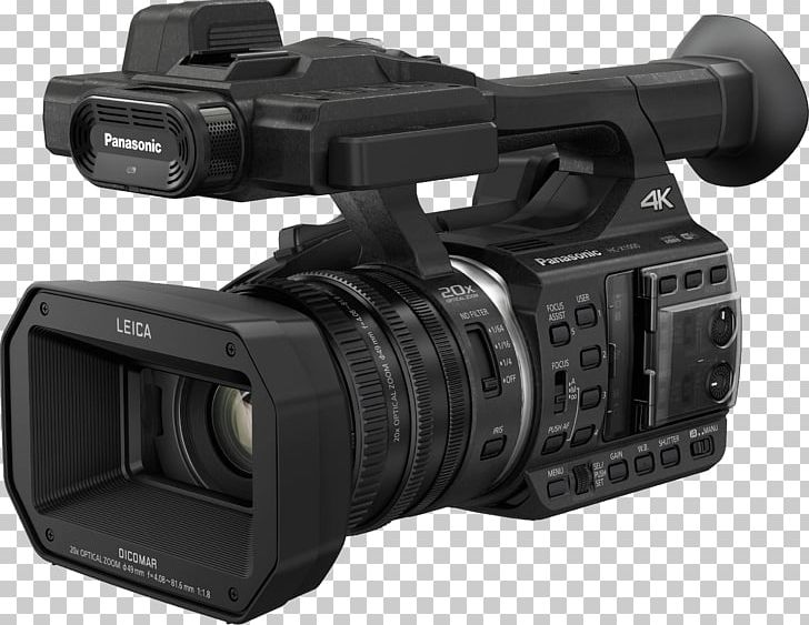 Panasonic Video Cameras 4K Resolution Ultra-high-definition Television PNG, Clipart, 4k Resolution, 24p, 1080p, Camera Lens, Electronics Free PNG Download
