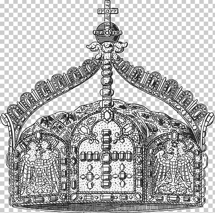German Empire Imperial Crown German Emperor PNG, Clipart, Black And White, Coat Of Arms, Crown, Deutsch, Emperor Free PNG Download
