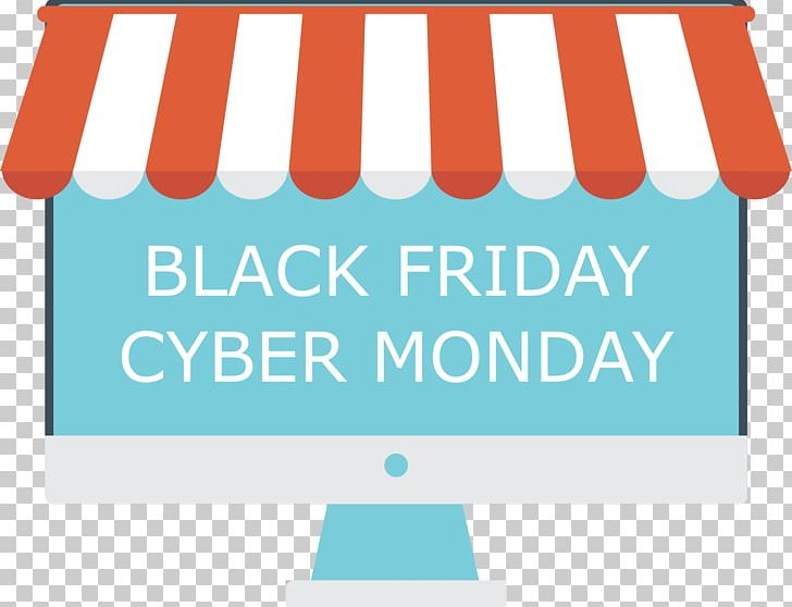 Cyber Monday E-commerce Retail Black Friday Shopping PNG, Clipart, Advertising, Area, Banner, Black Friday, Blue Free PNG Download