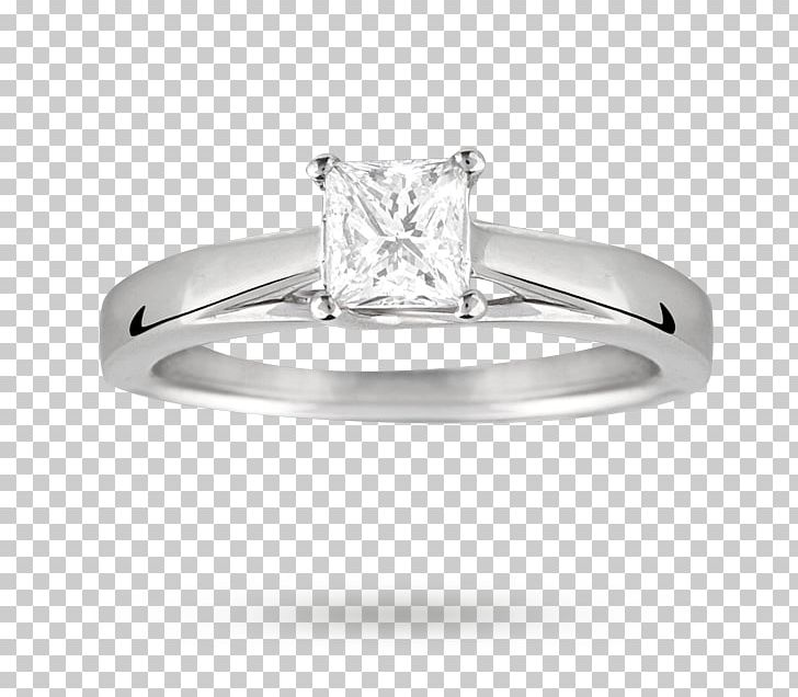 Diamond Wedding Ring Princess Cut Engagement Ring PNG, Clipart, 18 Carat Gold, Body Jewelry, Brilliant, Carat, Cut Free PNG Download