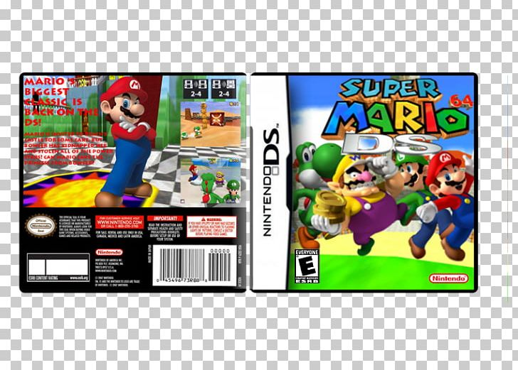 Super Mario 64 DS Nintendo DS Video Game PNG, Clipart