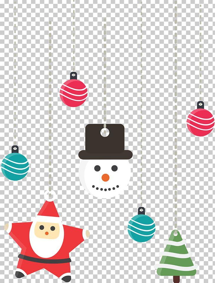 Santa Claus Christmas Decoration Ornament Pendant PNG, Clipart, Christmas Elements, Christmas Frame, Christmas Lights, Christmas Present, Creative Christmas Free PNG Download