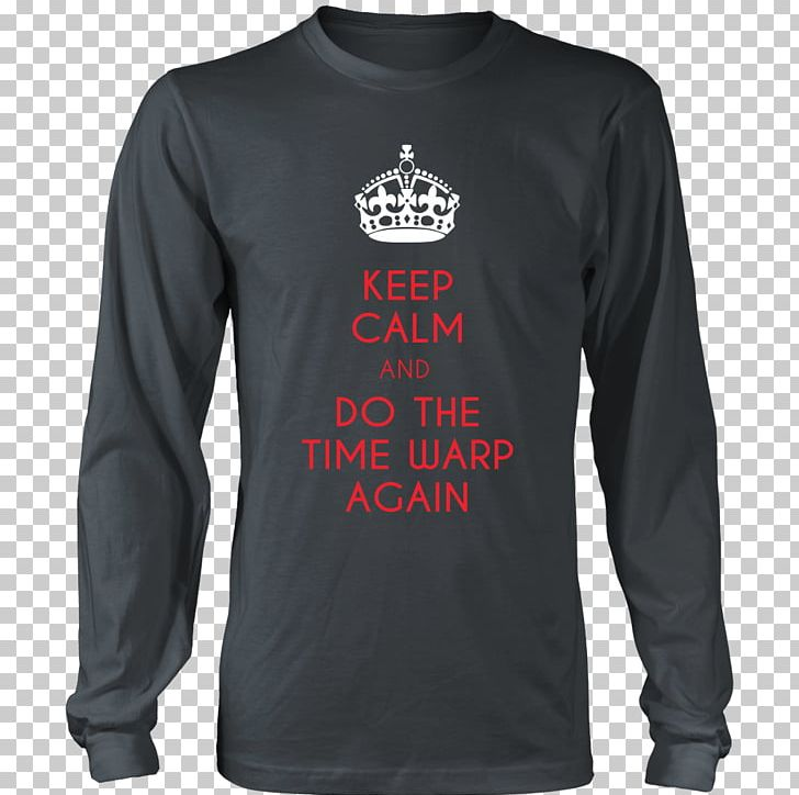 1861657a Long-sleeved T-shirt Hoodie Keep Calm And Carry On PNG, Clipart, Active  Shirt, Brand, Cafepress, ...