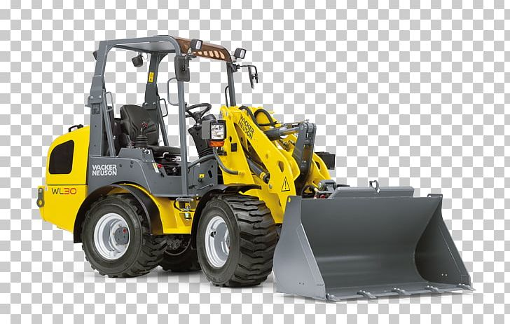 Loader Wacker Neuson Heavy Machinery Excavator PNG, Clipart