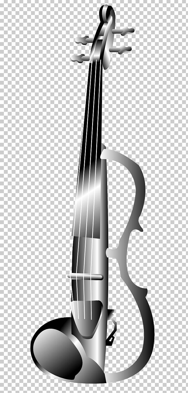 Electric Violin Musical Instruments PNG, Clipart, Angle, Black And White, Bow, Bowed String Instrument, Cello Free PNG Download