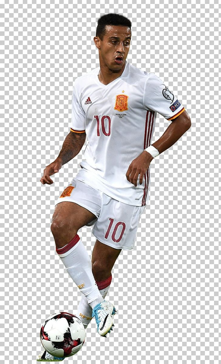 online retailer 57785 04aab Jersey Thiago Alcántara Team Sport Football Player PNG ...