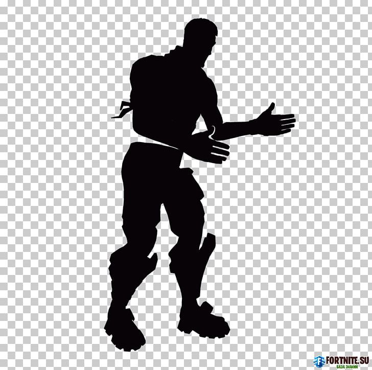 T-shirt Hoodie Fortnite Floss Silhouette PNG, Clipart, Angle