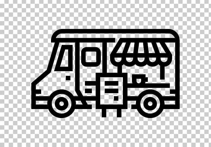 Car Food Truck Computer Icons PNG, Clipart, Area, Black And White, Brand, Car, Coffee Free PNG Download